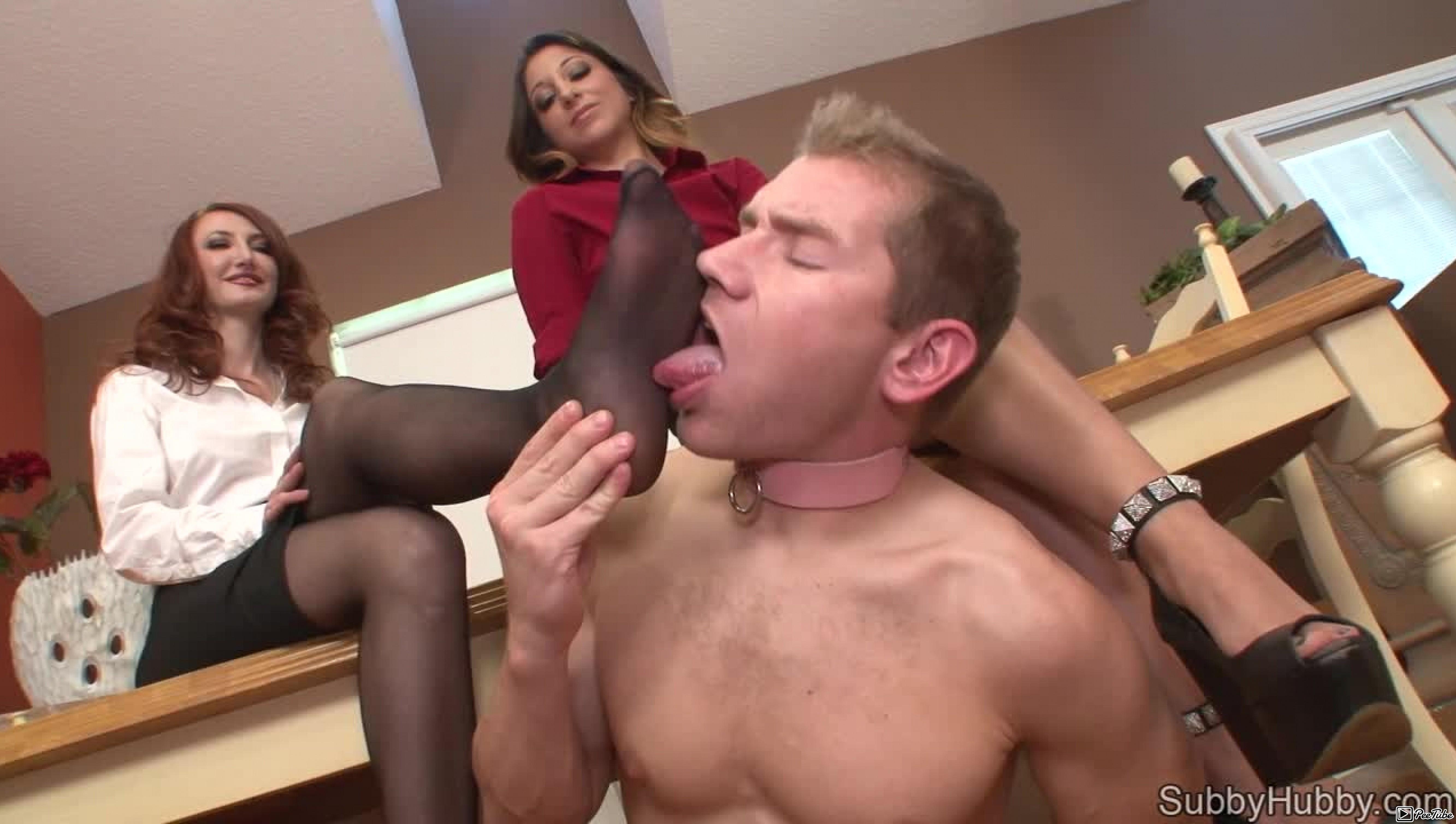 Subbyhubby.com – Cuckold Foot Slut Kendra James 2014 Feet Cuckold
