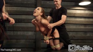 Thetrainingofo.com - Anal Slut Trained to Obey Roxanne Rae & Mr. Pete 2015 Bondage