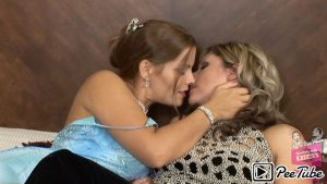 Girlfriendsfilms.com - Girls in White #06, Scene #01 Heather Silk & Jessica Shaw 2013 Kissing
